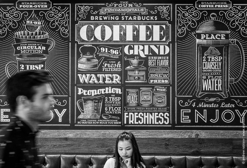 Cafe interior photography